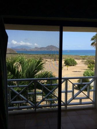 The Mount Nevis Hotel: View from room