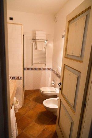 La Vecchia Fonte Hotel : Shower