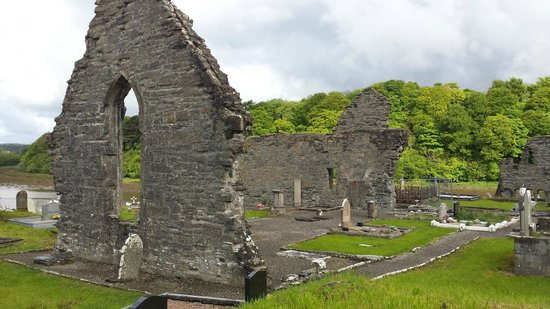 Abbey of the Four Masters (The Abbey): Ruines de l'abbaye