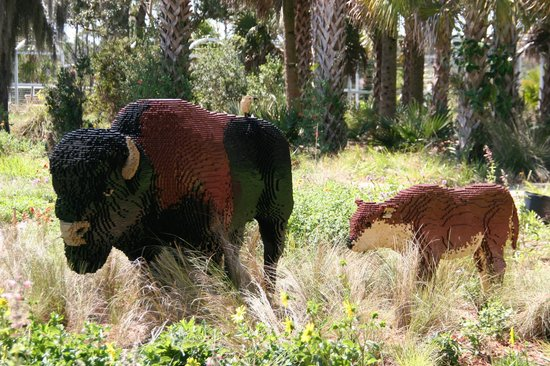 Naples Botanical Garden : Guess how many to make mommy and baby?