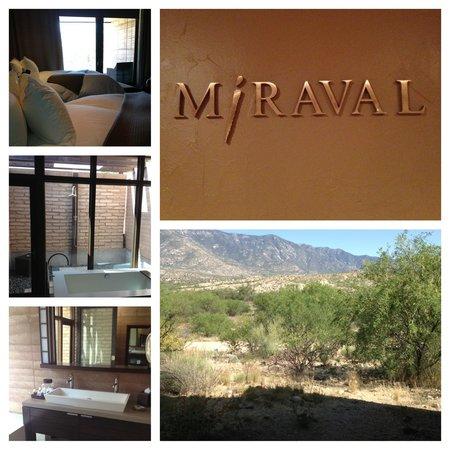 Miraval Arizona Resort & Spa : Catalina Room with outdoor shower