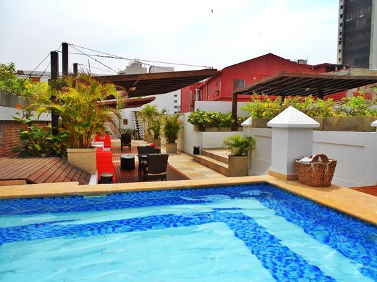 Casa Canabal Hotel Boutique : Rooftop Pool Area