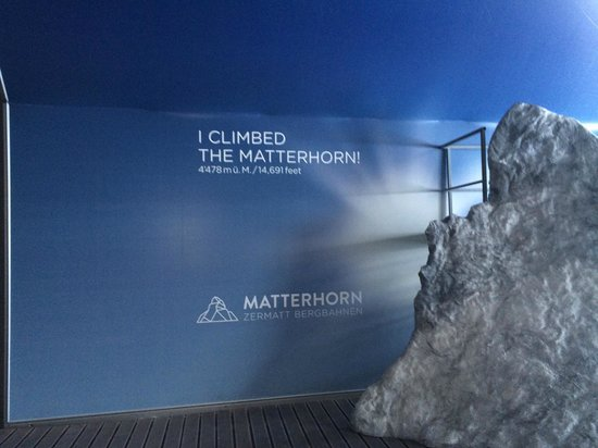 Matterhorn: I didn't, but i wish i had!!!