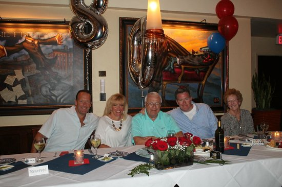 Blue Coyote Supper Club : Surprise Birthday Dinner