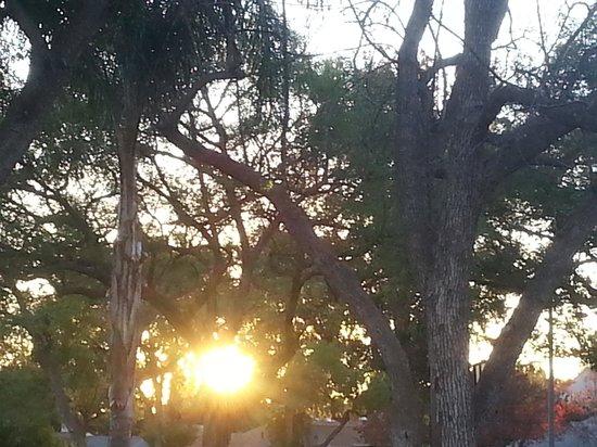 Kandawgyi Park : LOVELY SUN SET