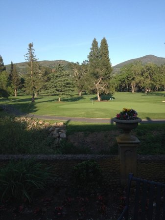 Silverado Resort and Spa: view from the dining area