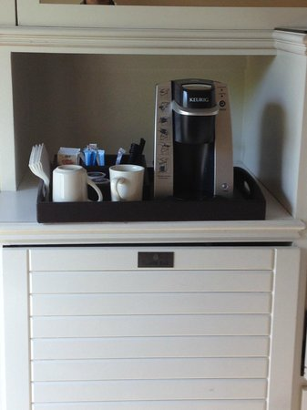 Silverado Resort and Spa: Keurig is the best part of the room besides the bed