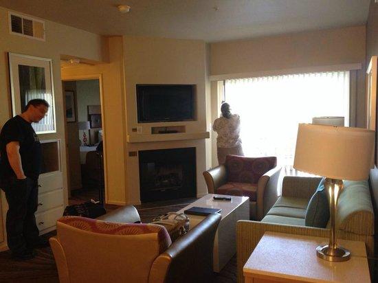 WorldMark Las Vegas-Boulevard: living room