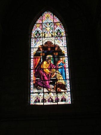 Basílica del Voto Nacional: Stained Glass Window