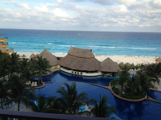 Fiesta Americana Condesa Cancun All Inclusive: View from our room 555