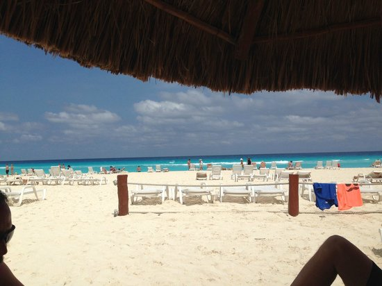 Fiesta Americana Condesa Cancun All Inclusive: View from our Palapa