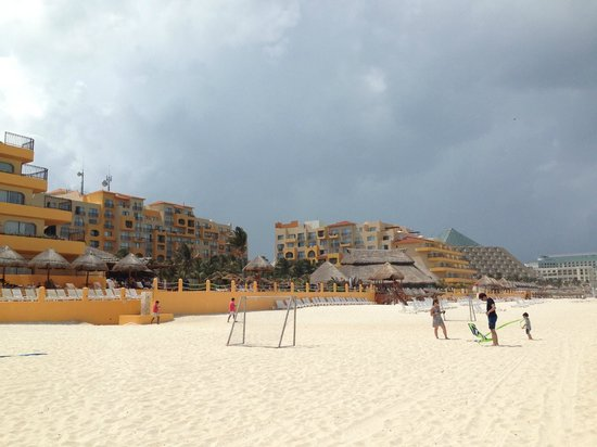 Fiesta Americana Condesa Cancun All Inclusive: View from the beach.