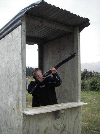 Hanmer Springs Adventure Centre: We do Claybird shooting!