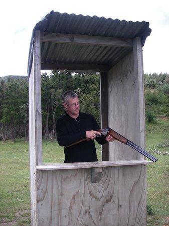 Hanmer Springs Adventure Centre: Claybird shooting