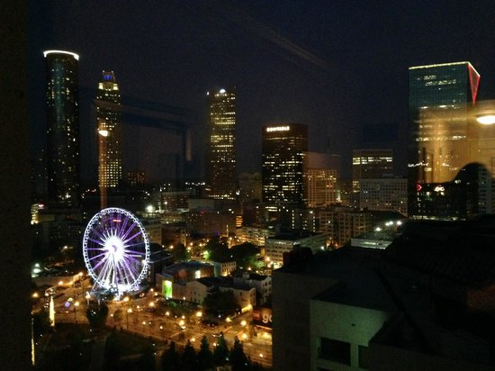 Omni Atlanta Hotel at CNN Center: The view from our room