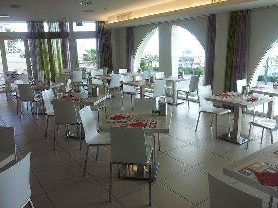Hotel Touring: Restaurant voor het ontbijt
