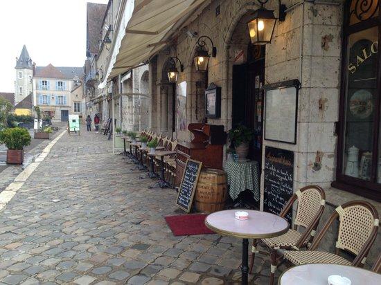 Café Serpente : Outside seating