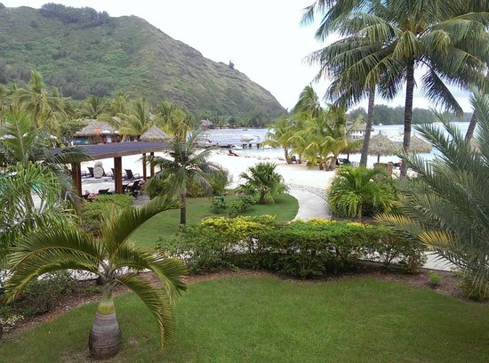 InterContinental Moorea Resort & Spa: View from room