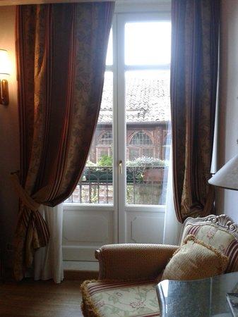 Il Sogno di Giulietta: Romantico balcone sul cortile