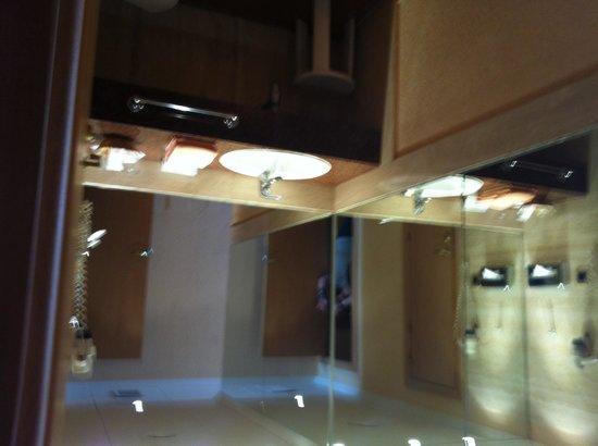 Diverhotel Lanzarote: The sink area