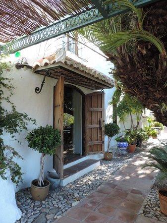 Hotel Finca el Cerrillo: The terrace