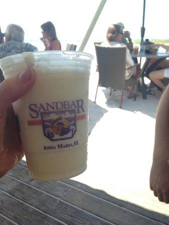 Sandbar Restaurant: pina colada