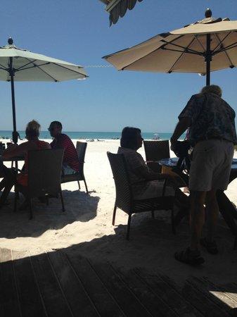 Sandbar Restaurant: the view!