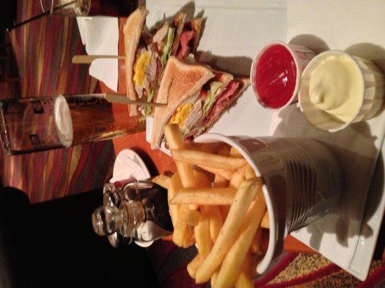 Hilton Blackpool Hotel: Hilton Club Sandwich