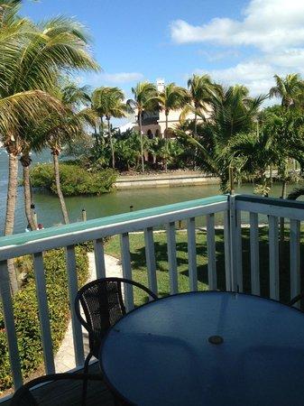 Matanzas Inn Villa View From Balcony