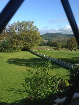 Llechwen Hall Hotel: View from Abercynon Suite