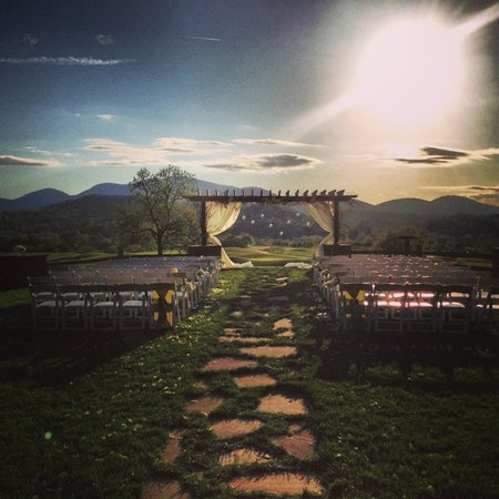Brasstown Valley Resort & Spa : wedding