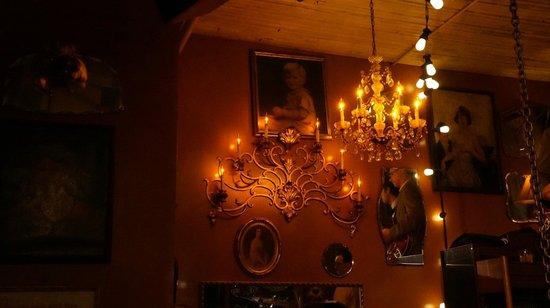 The Pink Door: Inside Dining Room - Wall Art