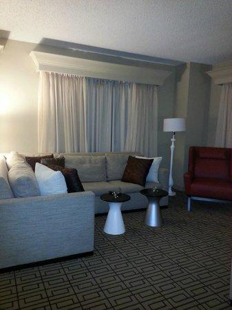 Renaissance Austin Hotel: Living Space