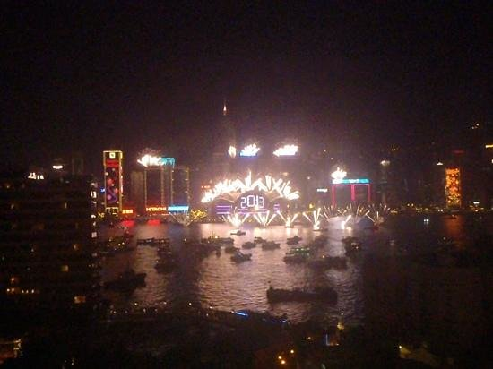 Sheraton Hong Kong Hotel & Towers: new years from our room. best view ever!! beat the crowds too!!