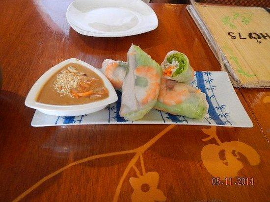 Pho 75 Vietnamese Restaurant: spring roll