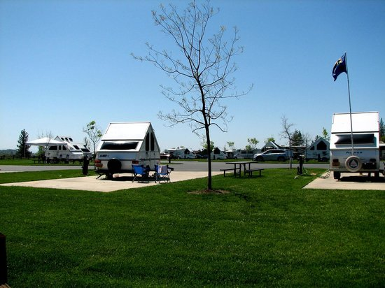 Jackson Rancheria RV Park: Spacious RV Sites