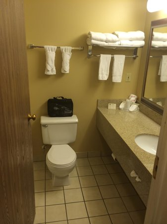 BEST WESTERN Arrowhead Lodge & Suites: Very Clean Bathrooms