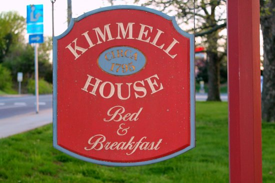 Kimmell House Sign