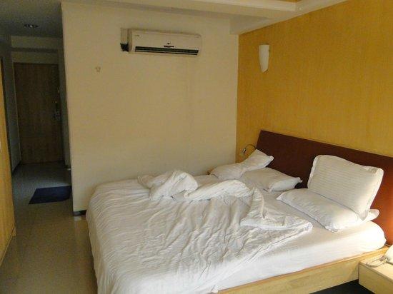 โรงแรมก็อดวิน: La cama