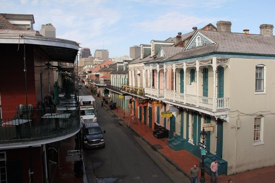 Bourbon Orleans Hotel: view from the balcony