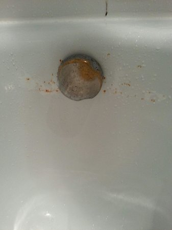 Demidoff Country Resort: Precense of rust, mold(?) and a dirty tub turned me off soaking in it. Showered instead.
