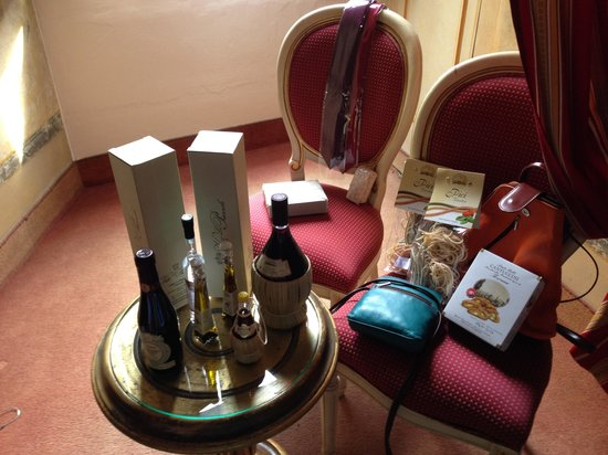 Paris Hotel : Our loot - be sure to visit the markets (just 2 blocks away) and check out the leather goods!