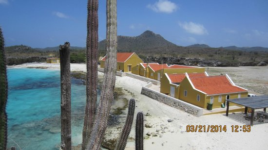 Boca Slagbaai: from on cliff area