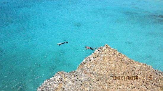 Boca Slagbaai: jump