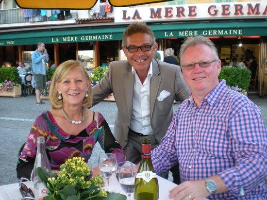 La Mere Germaine : Georgina ,Remy & Self 2011 Visit