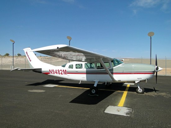 Westwind Air Service: Cessna we took to/from Grand Canyon