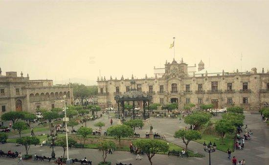 One Guadalajara Centro Històrico : Vista desde la habitación