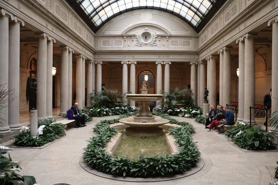 The Frick Collection : PATIO INTERIEUR