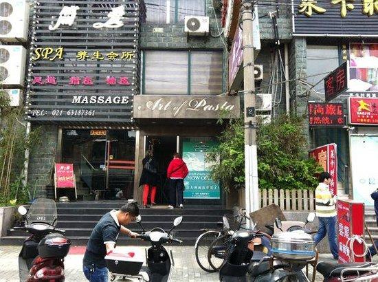 Art of Pasta restaurant, Shanghai