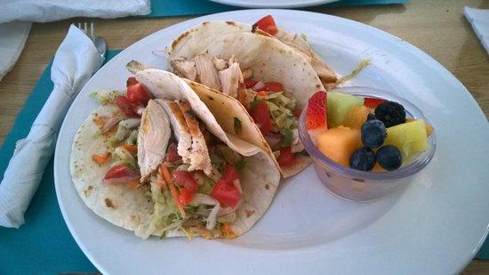 Blu' Island Bistro : Tacos